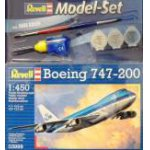 Revell 1:450 Model Set Boeing 747-200 63999 repülő makett
