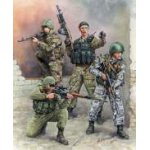 Zvezda 1:35 Russian Special Forces 3561 figura makett