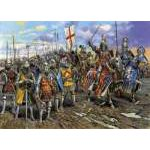 Zvezda 1:72 English Knights (of the 100 years war) 8044 figura makett