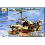 Zvezda 1:72 Kamov Ka-50 SH `Night Hunter` 7272 helikopter makett
