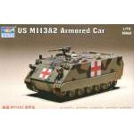 Trumpeter 1:72 US M113A2 Armored Car 07239 harcjármű makett