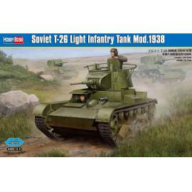 Hobbyboss 1:35 Soviet T-26 Light Infantry Tank harcjármű makett