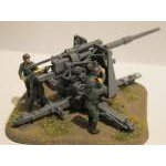Zvezda 1:72 German 88 mm Flak 1936/37 6158 figura makett