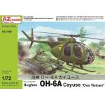 "AZ Model 1:72 - HUGHES OH-6A CAYUSE ""OVER VIETNAM"""