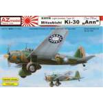 "AZ Model 1:72 - MITSUBISHI KI-30 ""ANN"" OVER CHINA - AZ7367"