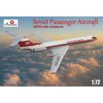 A Model 1:72 Tupolev Tu-134. Decals Interflug
