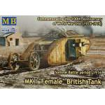 Master Box 1:72 - Mk.I Female British Tank. Somme,  MB72002