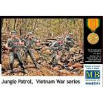 Master Box 1:35 - Jungle Patrol Vietnam War series