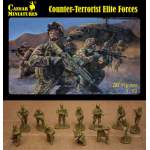 Caesar Miniatures 1:72 - Counter-Terrorist Elite Forces