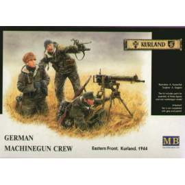 Master Box 1:35 - German (WWII) Machine-Gunners, Eastern front 1944