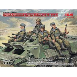 ICM - 1:35 Soviet Armored Carrier Riders (1979-1991)