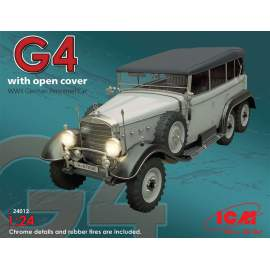 ICM - 1:24 Typ G4 with open cover, WWII German Personnel Car