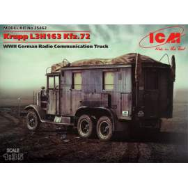ICM - 1:35 Krupp L3H163 Kfz.72, WWII German Radio Communication Truck