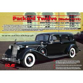 ICM - 1:35  Packard Twelve (Model 1936), WWII Soviet Leader´s Car