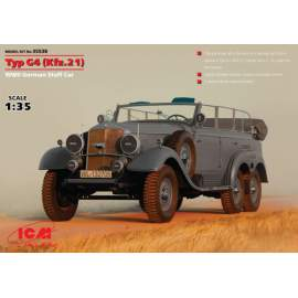 ICM - 1:35  Typ G4 (Kfz.21), WWII German Staff Car
