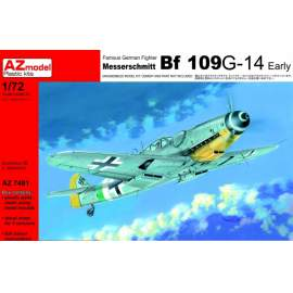 AZ Model 1:72 - MESSERSCHMITT BF 109G-14 EARLY