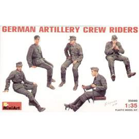 Miniart 1:35 German (WWII) Artillery Crew Riders