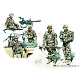 Masterbox 1:35 We are lucky! Modern UK Infantrymen, present day