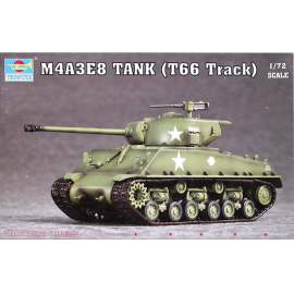 Trumpeter 1:72 M4A3E8 Tank (T66 Track)