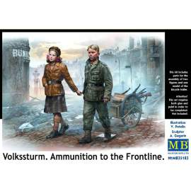 Masterbox 1:35 Volkssturm. Ammunition to the Frontline