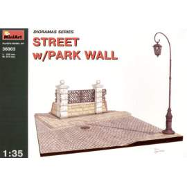 Miniart 1:35 - Street with Park Wall