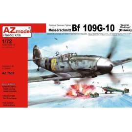 AZ Model - 1:72 Messerschmitt Bf-109G-10 Special markings (Diana)