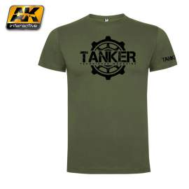 "TANKER T-SHIRT LIMITED EDITION ""M"""