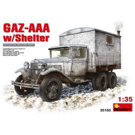 Miniart - 1:35 GAZ-AAA with Shelter