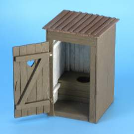 Eureka 1:35 Country Toilet (Outhouse)