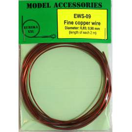 Fine copper wires 0.85 mm / 0.90 mm