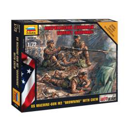 Zvezda 1:72 American Machine gun ´Browning´ (Mini-kits Modern)