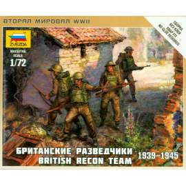 Zvezda 1:72 British Recon Team