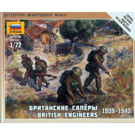 Zvezda 1:72 British Engineers