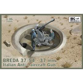 IBG Model 1:35 BREDA 37/54 37mm Italian Anti-aircraft Gun