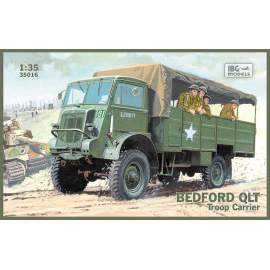 IBG Model 1:35 Bedford QLT Troop Carrier