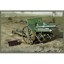 IBG Model 1:35 Skoda 100mm vz 14/19 Howitzer