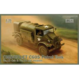 IBG Model 1:35 Chevrolet C60S  No.12/13 Cab Petro tank