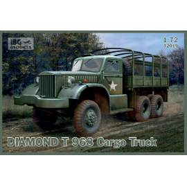 IBG Model 1:72 DIAMOND T 968 Cargo Truck