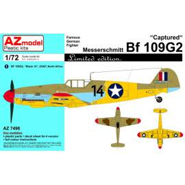 AZ Model - 1:72 Messerschmitt Bf 109G-2 Captured