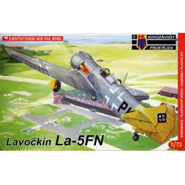 KP Model - 1:72 La-5FN Captured