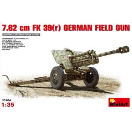 Miniart -  1:35 7,62 cm F.K. 39 ® German Field Gun