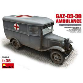 Miniart -  1:35 GAZ-03-30 Ambulance