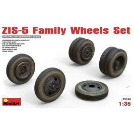 Miniart -  1:35 ZIS-5 Family Wheels Set