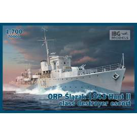 IBG 1:700 ORP Ślązak 1943 Hunt II class destroyer escort