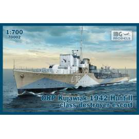 IBG 1:700 ORP Kujawiak 1942 Hunt II class destroyer escort