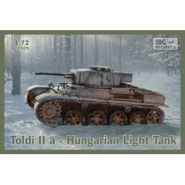 IBG Model 1:72 Toldi IIa Hungarian Light Tank