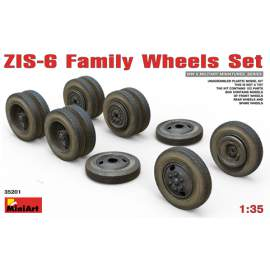 Miniart -  1:35 ZIS-6 Family Wheels Set