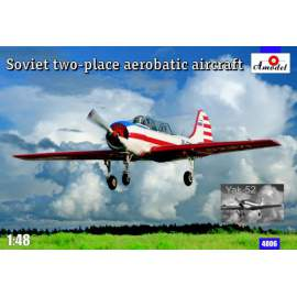 A-Model 1:48 Yakovlev Yak-52 aerobatic display aircraft