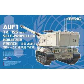 Meng Model 1:35 French AUF1 TA 155mm Self Propelled Howitzer