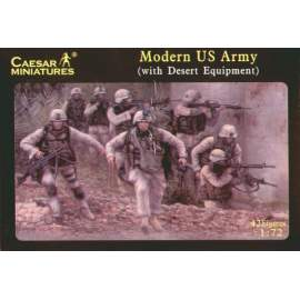 Caesar Miniatures 1:72 - Modern US Army (with desert equipment)